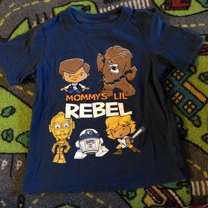 Two Star Wars 3T shirts